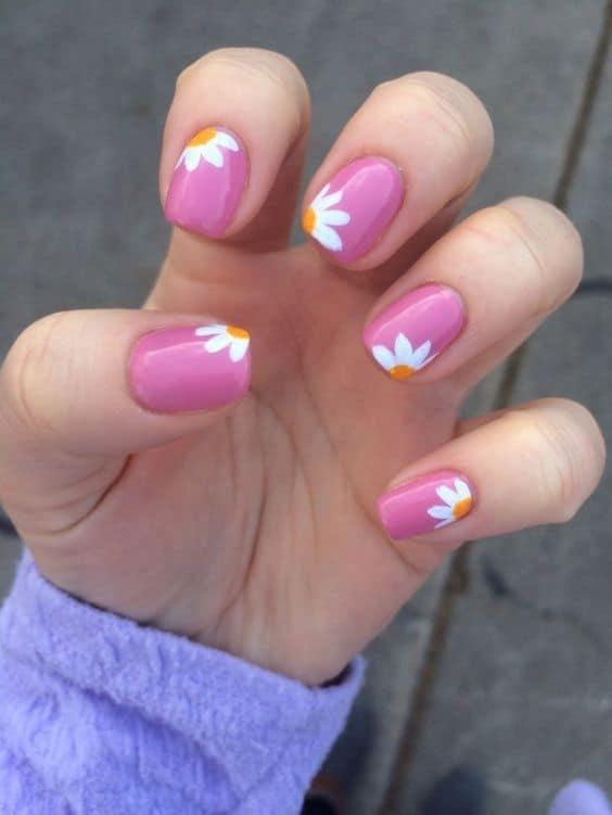 fotos de uñas semipermanentes