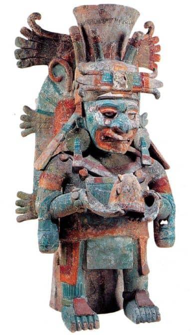dioses de los mayas