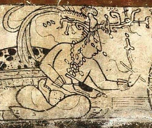 dios humano maya
