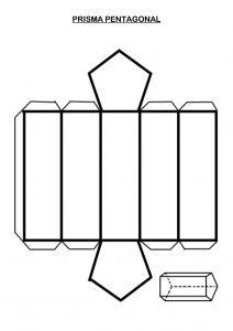 prismas para armar  imprimir recortar