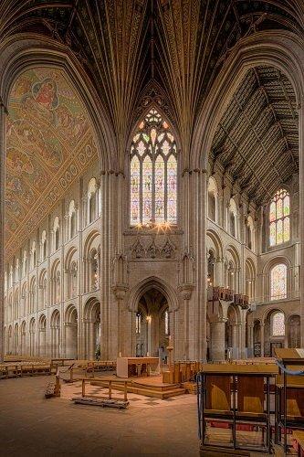 La geometría de las catedrales