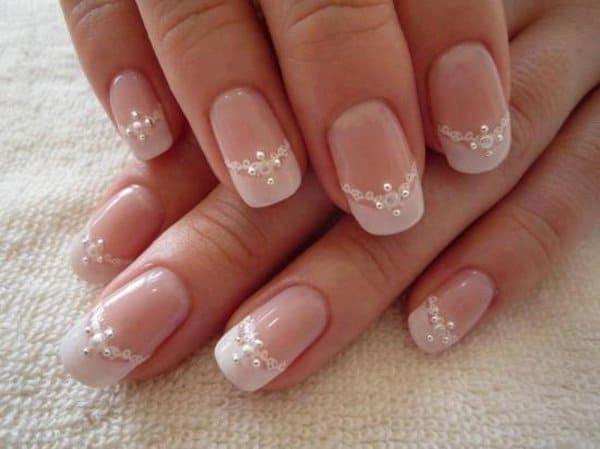modelos de uñas de gel decoradas